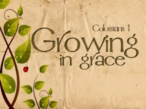 Growing in Grace & Truth